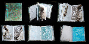 handmade book by hibbary
