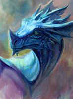 Peacock Dragon by hibbary