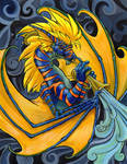 Jazz Dragon by hibbary