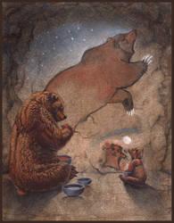 Big Bear Little Bear by hibbary