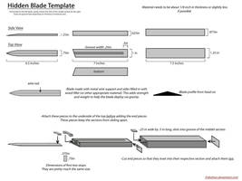Hidden Blade Template by Enbahan