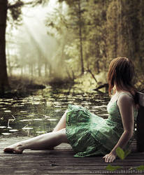 .summer in the forest by masKade