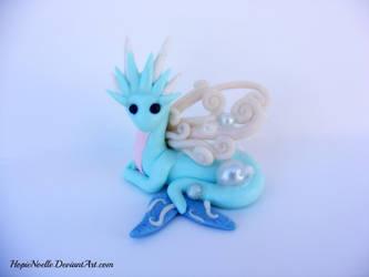 Blue Water dragon by HopieNoelle
