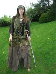 Pirate Girl by NaviStock