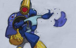 Megaman Rampage 1 - Airman by Pharan