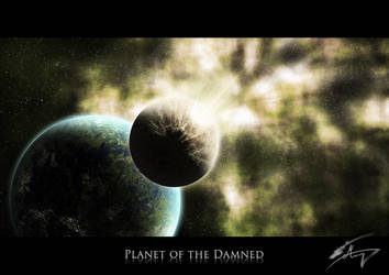 Planet of the Damned by DarkBubblegum2