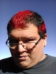 Dyed my hair by DEMONrhino66698