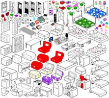 Human Furniture UG by 004-Pika-Jey