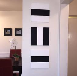 Geometric Painting by Jocelyn1988