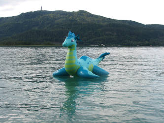 Nessie on a lake again by Alan7812