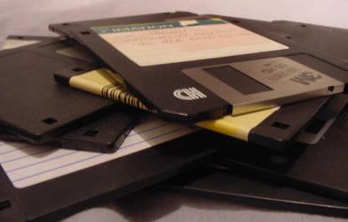 Floppy disks by Snufver