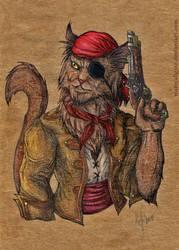 Pirate by mareCaligine