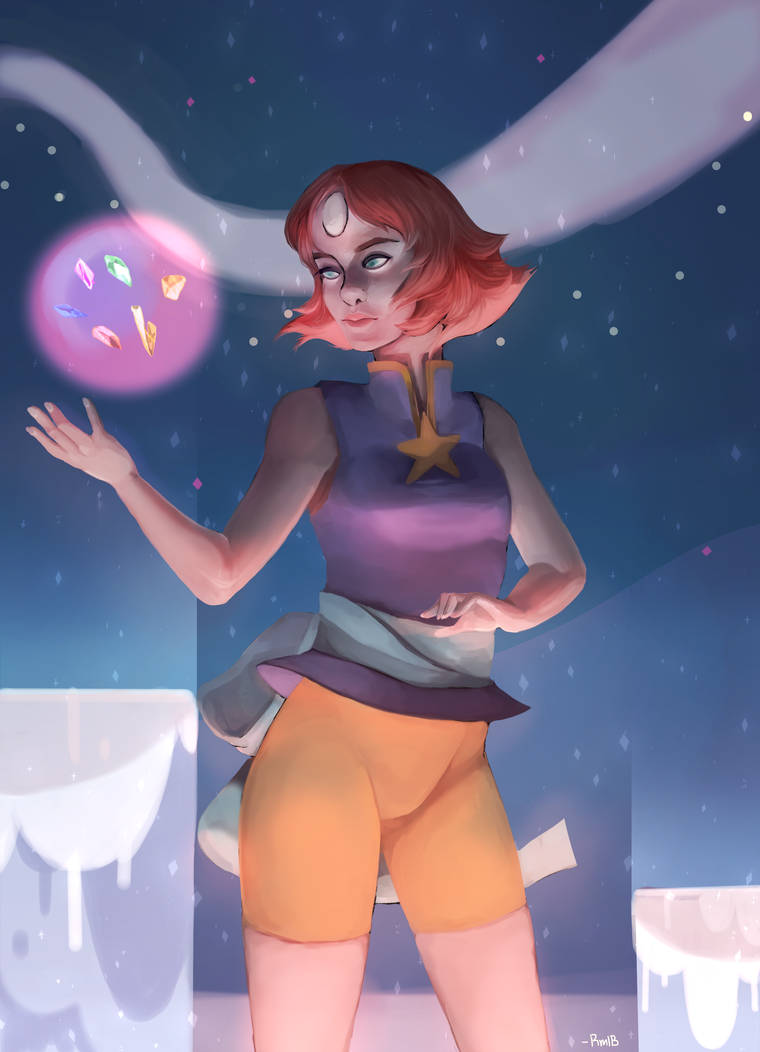 realistic-ish pearl from secret team! i sill want to know what exactly she was looking for this is like the second time i have tried to digitally paint anything seriously i need to work on making t...