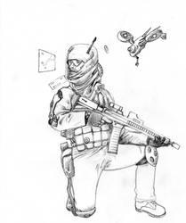 AR Mech Suit Combatant 01 by PerezArt