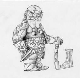 Dwarf by PerezArt