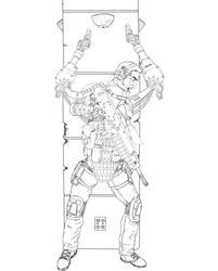 Sci-Fi-Four-Arms-01 by PerezArt