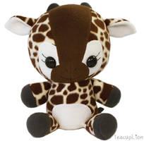 Floppy Plushie - Baby Giraffe by TeacupLion