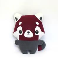 Pip Red Panda - Kawaii Pillow Plushie by TeacupLion