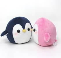 Round Penguins by TeacupLion
