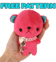 Free pattern: Pocket Bear by TeacupLion