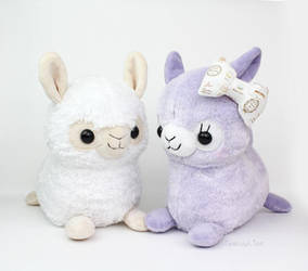 Alpaca sewing pattern by TeacupLion
