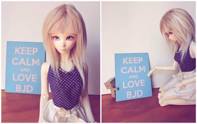 Keep calm and love BJD by cutejoint