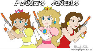 Mario's Angels by MandyNeko