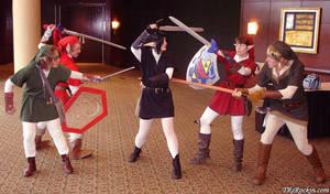 Everyone hates Dark Link by MandyNeko