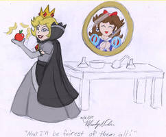 Who's the fairest? by MandyNeko