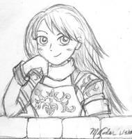 Shiida Sketchy by MandyNeko