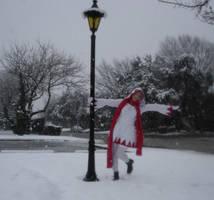 Singin' in the Snow by MandyNeko