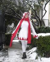 White Mage Winter Wonderland by MandyNeko