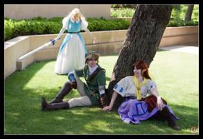 Zelda Rage - Link x Malon by MandyNeko