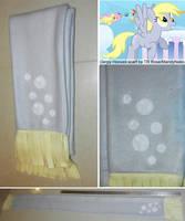Derpy Hooves pony scarf - muffins optional by MandyNeko