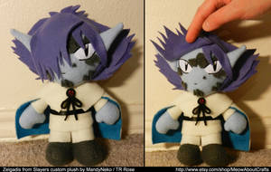 Zelgadis Greywords - Slayers - plush doll request by MandyNeko
