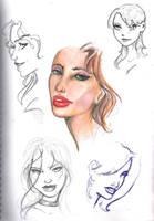Faces sketch by braindamage84