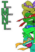 My original TMNT by shu85