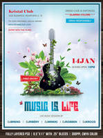 Music Is Life Flyer by Minkki2fly
