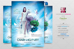 Charming Party Poster by Minkki2fly