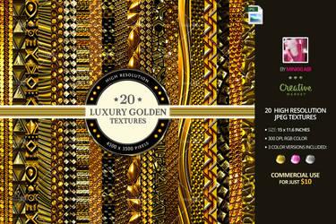 Luxury Golden Textures by Minkki2fly