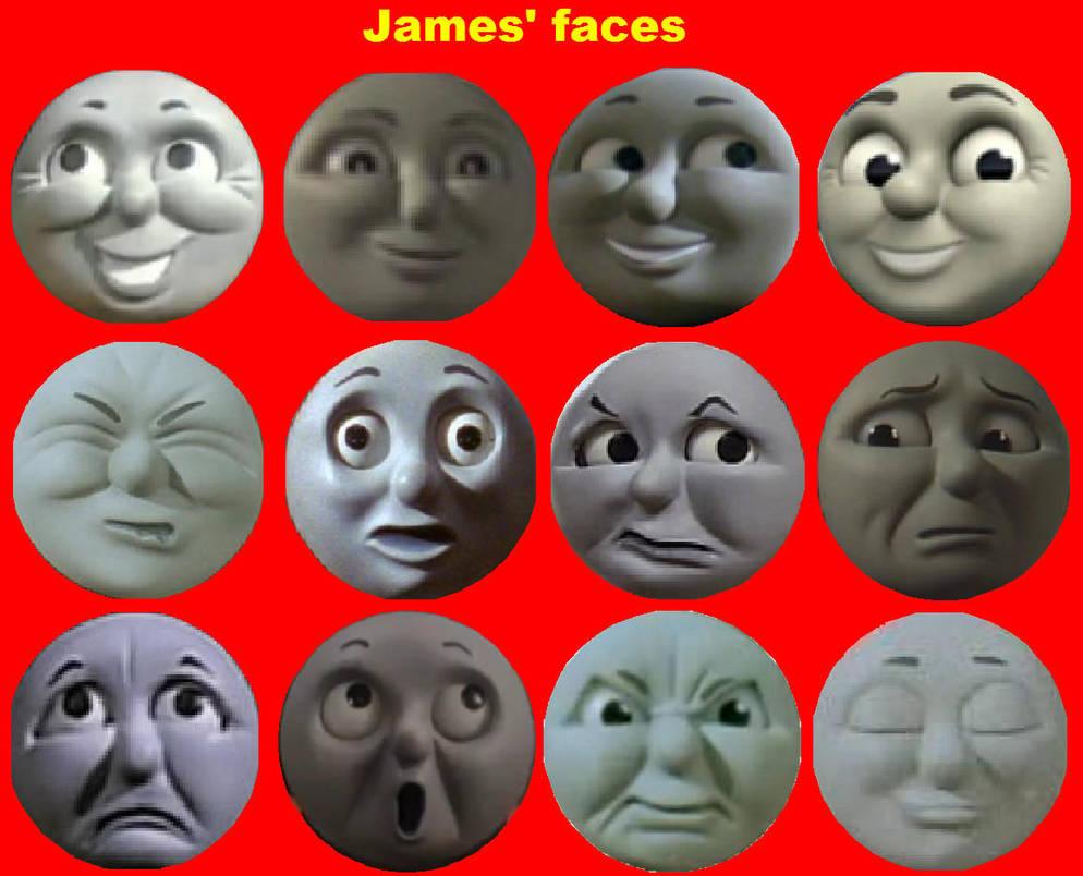 James' Faces by grantgman on DeviantArt