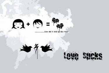 Love Sucks by thispicture