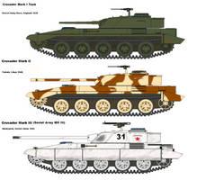 Crusader Medium Tank by PaintFan08