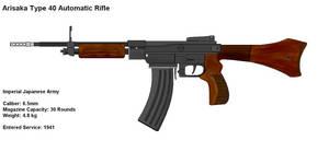 Type 40 Automatic Rifle IJA by PaintFan08
