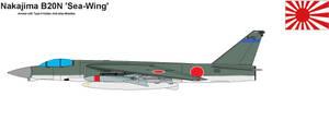 Japanese Sea-Wing Bomber by PaintFan08