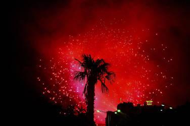 Firework in Sicily by roospe
