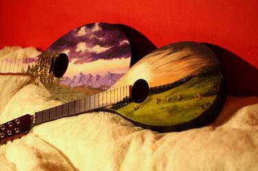 Landscape mandolins by roospe