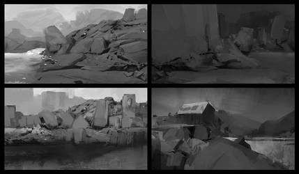rocks by moodyg