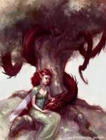 The Cursed Wyrm by irysching