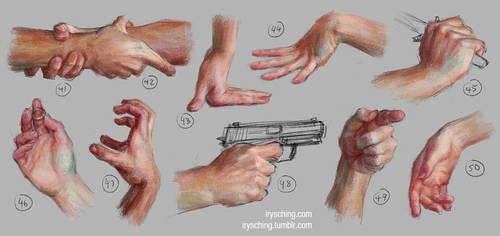 Hand Study 5 by irysching